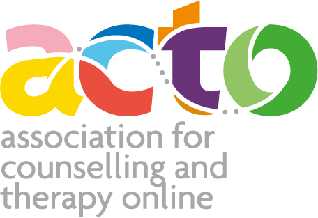Logo for the Association for Counselling and Therapy Online (ACTO)